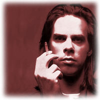 Portrait of Nick Cave